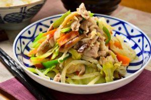 肉野菜炒めポイント 水っぽくべちゃっとしない